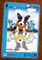 GIAPPONE Ticket Biglietto Bus Metro Treni Rabindra Danks Cani Uccelli SF Card 1000 ¥ - Usato - Monde
