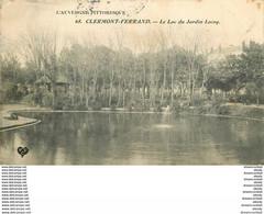 WW 63 CLERMONT-FERRAND. Top Promotion Du Mois : Lac Jardin Lecoq - Clermont Ferrand