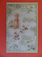 Image Pieuse +ou- 1890 - Chromo Editeur EDAN N° 1060 - Bonne Et Sainte Année - Nouvel An - Religion & Esotericism