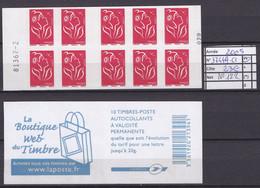 ANNEE 2005 SPLENDIDE CARNET DE LUXE FRANCE N° 3744-C1 NEUF (**) NON PLIER CÔTE 23.00€ Y&T A SAISIR!!!!!! - Commemoratives