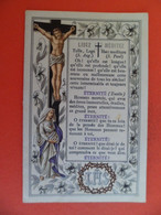Image Pieuse 10/02/ 1891  - Chromo Editeur Sandinos - Lisez Méditez - Jesus - Marie - Religion & Esotericism