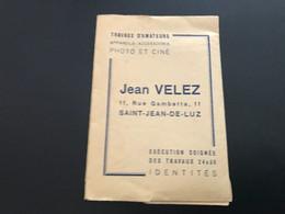 Pochette Photographie JEAN VELEZ SAINT JEAN DE LUZ - Materiale & Accessori
