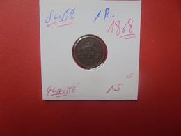 SUISSE 1 RAPPEN 1868 BELLE QUALITE (A.6) - Schweiz