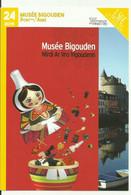 Carte Musée Bigouden Pont-l'Abbé 2019 - Advertising