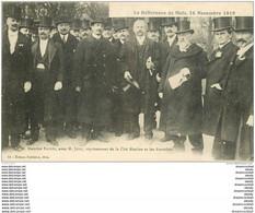 57 METZ. Maurice Barrès Et Jung Représentant Cité Messine Et Autorités - Metz