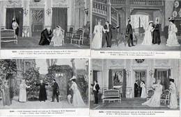 Gaïté  - Lot De 4 CPA - L' Abbé Constantin     (121640) - Theatre
