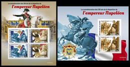 GUINEA 2020 - Napoleon Bonaparte. M/S + S/S. Official Issue [GU200353] - Guinea (1958-...)