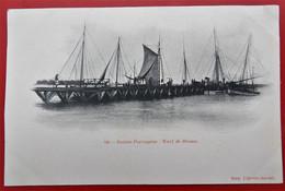 Cpa GUINEE PORTUGAISE Warf De Bissau - Guinea-Bissau
