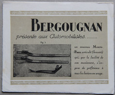 Dépliant Publicitaire, Bergougnan Monte-pneu Articulé - Advertising