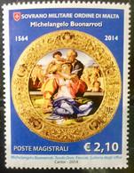 MALTA 2014 MNH STAMP ON SOVRANO MILITARE ORDINE DI MALTA - Malte (Ordre De)