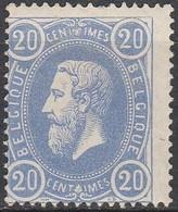 Belgie    .  OBP  .     31  (2 Scans)      .   **   .     Postfris      .    /   .   Neuf SANS Charnière - 1869-1883 Leopold II.