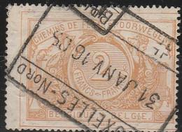 Belgie    .  OBP  .   TR 14  (2 Scans)      .     O    .     Gebruikt        .    /   .   Oblitéré - Used
