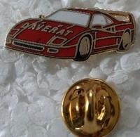 Pin's - Automobiles - Ferrari - Garage DAVERA - FERRARI MASERATI JAGUAR  - - Ferrari