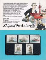 AAT 1979 Definitives / Ships 16v ** Mnh 3 Presentation Maps  (52018) - Neufs