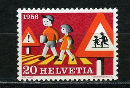 SUISSE - SECURITÉ ROUTIERE - N° Yt 574 ** - Unused Stamps