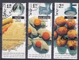 Israel 2000 - Mi.Nr. 1563 - 1565 - Gestempelt Used - Used Stamps (with Tabs)