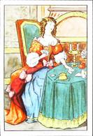 ► Chromo Image  Louis XIV  Partie De Cartes Jeu As     Bledine  Le Costume à Travers Les âges - Album & Cataloghi