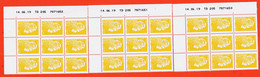 Tb137 ⭐ Coin Daté Y&T 1594 Serie Suivie TD 205 7871650/51/52 Tirage 14-06-2019 Marianne CATELIN YSEULT YZ  3x9x0.01€ - 2010-....