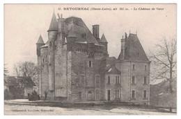 43 - RETOURNAC - Le Château De Vaux - Guinamand 31 - Retournac