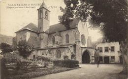 VILLEFRANCHE DE ROUERGUE  Hospice  (ancienne Chartreuse ) L'Eglise RV - Villefranche De Rouergue