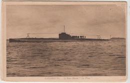 "CHERBOURG LE SOUS MARIN  ""LA PLACE"" TBE - Submarines"