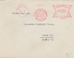 Czechoslovakia, Letter, Cancelled Bratislava 1, 15.3.32, Machine Cancellation IMC Trnava - Covers & Documents