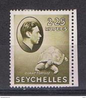 SEYCELLES:  1938  GIORGIO  VI°  -  2 R. 25  OLIVA  L. -  YV/TELL. 131 - Seychellen (...-1976)