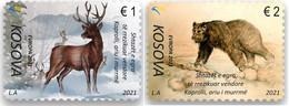 Kosovo  MNH ** 2021 Europa 2021 - Endangered National Wildlife Set M - 2020