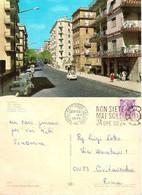 CARTOLINA NAPOLI - VIA GEMITO ANIMATA - COLORI ANNI 70 VIAGGIATA - Napoli (Napels)