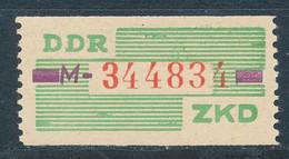 DDR Dienstmarken B 24 ** Kennbuchstabe M Mi. 10,- - Oficial