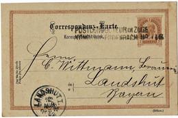 1892, Postconducteur - Stp., Klar,  A4831 - Cartas