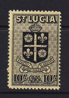 St Lucia: 1938/48   KGVI   SG138    10/-       MH - St.Lucia (...-1978)