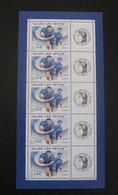 "Bloc Feuillet Personnalisé Ceres"" Coupe Du Monde De Rugby "" Neuf** 2007 - Gepersonaliseerde Postzegels"