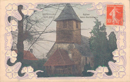 76 - OCTEVILLE SUR MER / EGLISE SAINT BARTHELEMY - CARTE GAUFREE - Autres Communes