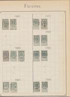"""Fine Barbe (n°53) - Pages De Collection + Préo """"Florennes"""" (1898 > 1907) / Cote 150e - Roulettes 1894-99"""