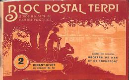 Bloc Postal Terpi - Livret 50 Pages (sans Carte Postale) Dinant-Givet - Non Classés
