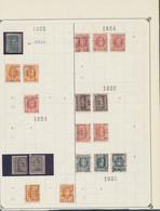 """Albert I / Houyoux / Lion Héraldique - Pages De Collection + Plaquette Préo """"Frameries"""" (1921 > 1930) / Cote 130e+ - Roulettes 1920-29"""