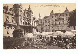MONACO - Monte Carlo, Café De Paris - 1049 - Bars & Restaurants