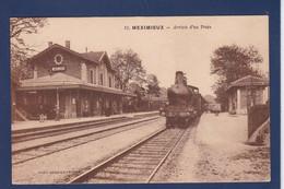 CPA [01] Ain MEXIMIEUX Train Gare Chemin De Fer Station Non Circulé - Altri Comuni