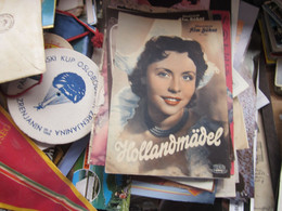 Illustrierte Film Buhne Hollandmadel - Cinema Advertisement