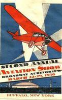 BUFFALO-(AVIATION SHOW) - 1930 - - 1c. 1918-1940 Cartas