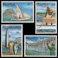 Mauritius 1983 - Mi-Nr. 566-569 ** - MNH - Fische / Fish - Mauritius (1968-...)
