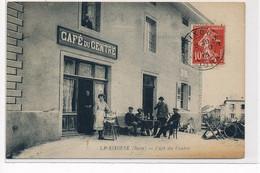 LA RIXOUSE : Cafe Du Centre - Tres Bon Etat - Sonstige Gemeinden