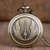 Montre Gousset NEUVE ! ( Pocket Watch ) - Star Wars Ordre Jedi - Orologi Da Polso
