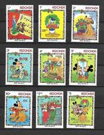 Disney Set Redonda 1983 Christmas MNH - Disney