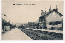 ALLASSAC : La Gare - Tres Bon Etat - Andere Gemeenten