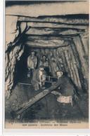 LAVAVEIX-les-MINES : Boiseurs Réparant Une Galerie, Interieur Des Mines - Tres Bon Etat - Auzances