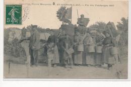 SAINT-AIGNAN : Fin Des Vendanges 1907 - Etat - Saint Aignan