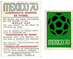 PANINI , Football MEXICO 70, 10 Figurines, Bel état - Other