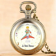 Montre Gousset NEUVE ! ( Pocket Watch ) - Le Petit Prince Saint-Exupéry ( Ref 3 ) - Watches: Bracket